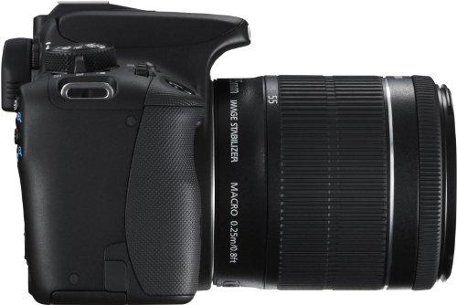 Canon EOS 100D SLR-Digitalkamera (18 Megapixel, 7,6 cm (3 Zoll) Touchscreen, Full HD, Live-View) Kit inkl. EF-S 18-55mm 1:3,5-5,6 IS STM - 6