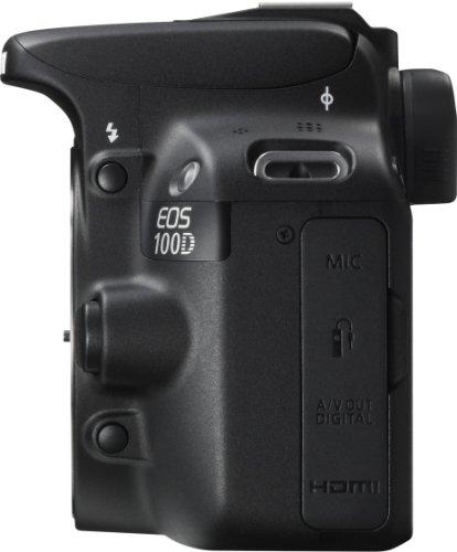 Canon EOS 100D SLR-Digitalkamera (18 Megapixel, 7,6 cm (3 Zoll) Touchscreen, Full HD, Live-View) nur Gehäuse - 3