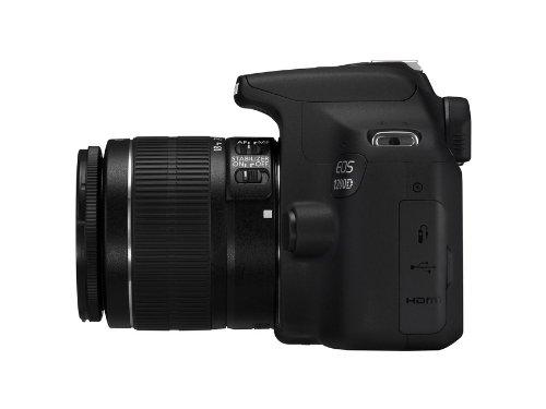 Canon EOS 1200D SLR-Digitalkamera (18 Megapixel APS-C CMOS-Sensor, 7,5 cm (3 Zoll) LCD-Display, Full HD) Kit inkl. 18-55mm IS Objektiv schwarz - 2