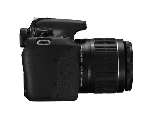 Canon EOS 1200D SLR-Digitalkamera (18 Megapixel APS-C CMOS-Sensor, 7,5 cm (3 Zoll) LCD-Display, Full HD) Kit inkl. 18-55mm IS Objektiv schwarz - 3