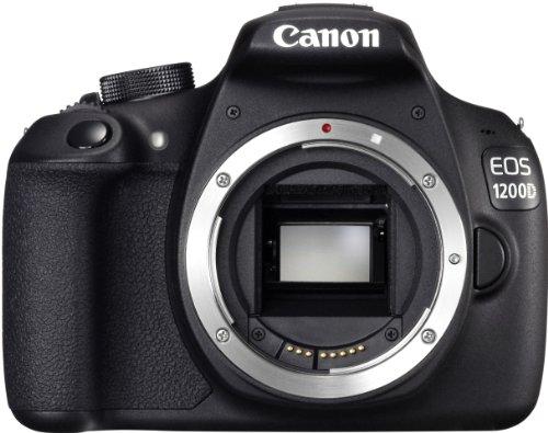 Canon EOS 1200D SLR-Digitalkamera (18 Megapixel APS-C CMOS-Sensor, 7,5 cm (3 Zoll) LCD-Display, Full HD) Kit inkl. 18-55mm IS Objektiv schwarz - 6