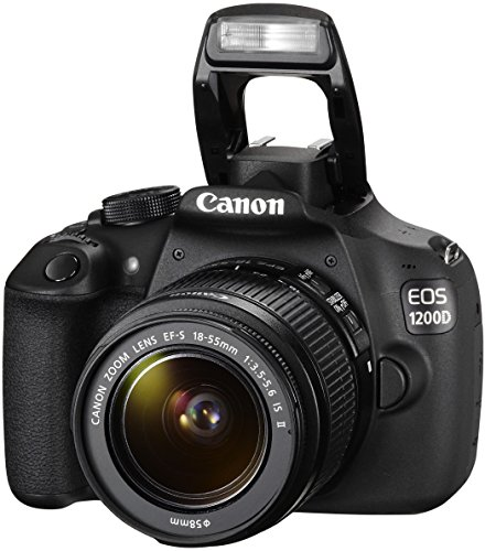 Canon EOS 1200D SLR-Digitalkamera (18 Megapixel APS-C CMOS-Sensor, 7,5 cm (3 Zoll) LCD-Display, Full HD) Kit inkl. 18-55mm IS Objektiv schwarz - 7