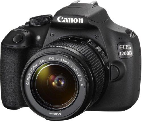 Canon EOS 1200D SLR-Digitalkamera (18 Megapixel APS-C CMOS-Sensor, 7,5 cm (3 Zoll) LCD-Display, Full HD) nur Gehäuse schwarz - 13