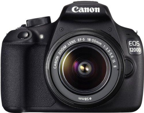 Canon EOS 1200D SLR-Digitalkamera (18 Megapixel APS-C CMOS-Sensor, 7,5 cm (3 Zoll) LCD-Display, Full HD) nur Gehäuse schwarz - 8