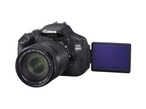 Canon EOS 600D SLR-Digitalkamera (18 Megapixel, 7,6 cm (3 Zoll) schwenkbares Display, Full HD) Kit inkl. EF-S 18-135mm 1:3,5-5,6 IS - 10