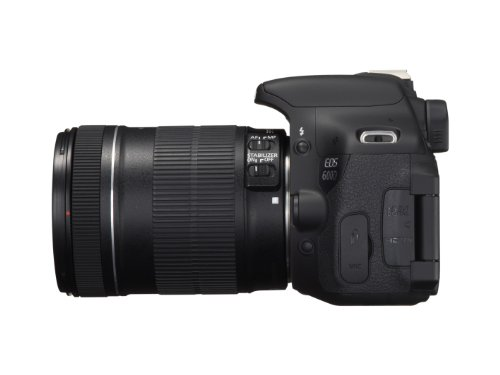 Canon EOS 600D SLR-Digitalkamera (18 Megapixel, 7,6 cm (3 Zoll) schwenkbares Display, Full HD) Kit inkl. EF-S 18-135mm 1:3,5-5,6 IS - 11