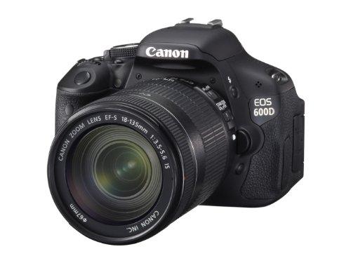 Canon EOS 600D SLR-Digitalkamera (18 Megapixel, 7,6 cm (3 Zoll) schwenkbares Display, Full HD) Kit inkl. EF-S 18-135mm 1:3,5-5,6 IS - 2