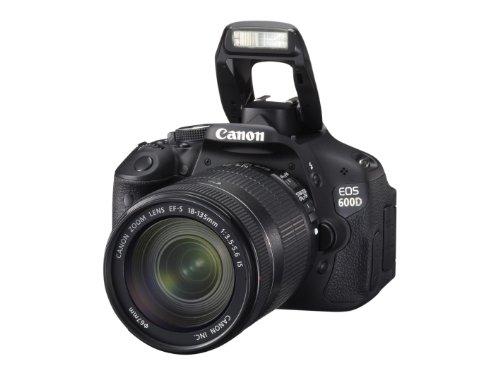 Canon EOS 600D SLR-Digitalkamera (18 Megapixel, 7,6 cm (3 Zoll) schwenkbares Display, Full HD) Kit inkl. EF-S 18-135mm 1:3,5-5,6 IS - 8