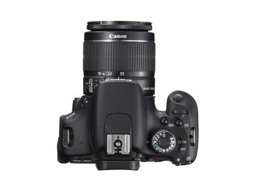 Canon EOS 600D SLR-Digitalkamera (18 Megapixel, 7,6 cm (3 Zoll) schwenkbares Display, Full HD) Kit inkl. EF-S 18-55mm 1:3,5-5,6 IS II - 2