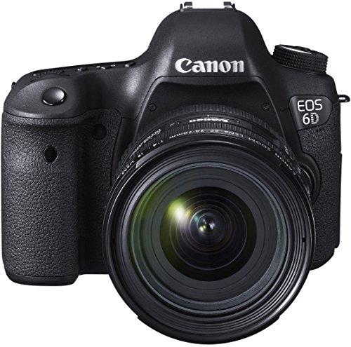 Canon EOS 6D Digital-SLR Kamera (20,2 Megapixel CMOS-Sensor, Live View, Full HD, WiFi, GPS, DIGIC 5+) mit EF 24-70mm 1:4 L IS USM Objektiv Kit - 2