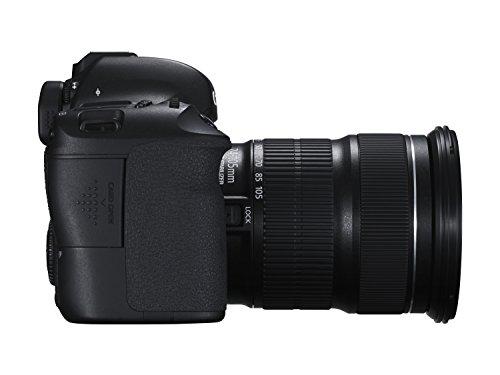 Canon EOS 6D SLR-Digitalkamera (20,2 Megapixel, CMOS-Vollformatsensor, 7,6 cm (3 Zoll) Display, Full-HD) Kit inkl. 24-105 mm IS STM, schwarz - 4