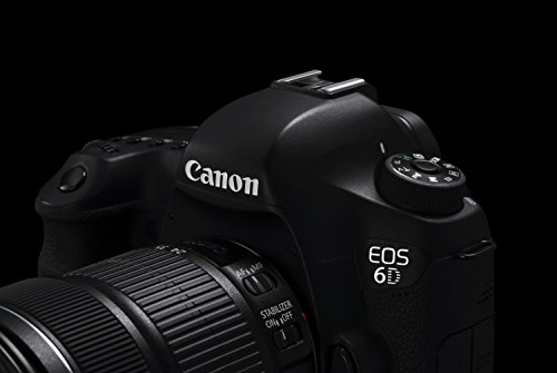 Canon EOS 6D SLR-Digitalkamera (20,2 Megapixel, CMOS-Vollformatsensor, 7,6 cm (3 Zoll) Display, Full-HD) Kit inkl. 24-105 mm IS STM, schwarz - 6