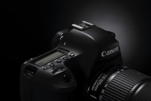 Canon EOS 6D SLR-Digitalkamera (20,2 Megapixel, CMOS-Vollformatsensor, 7,6 cm (3 Zoll) Display, Full-HD) Kit inkl. 24-105 mm IS STM, schwarz - 9