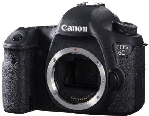 Canon EOS 6D Vollformat Digital-SLR Kamera mit WLAN und GPS (20,2 Megapixel, 7,6 cm (3 Zoll) Display, DIGIC 5+) nur Gehäuse - 3