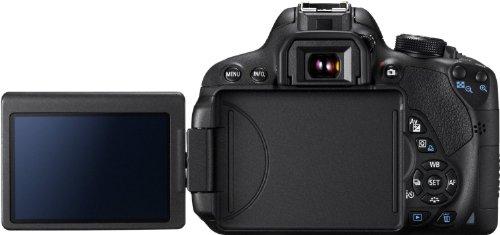Canon EOS 700D Digital SLR-Kamera (18 Megapixel, 7,6 cm (3 Zoll) Display, Full HD, DIGIC 5) inkl. EF 18-55mm IS STM und EF 55-250mm IS STM Double-Zoom-Kit schwarz - 5