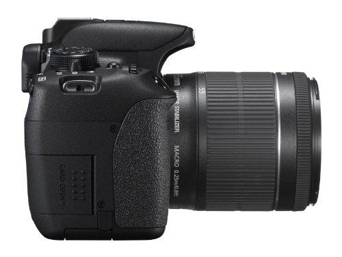 Canon EOS 700D SLR-Digitalkamera (18 Megapixel, 7,6 cm (3 Zoll) Touchscreen, Full HD, Live-View) Kit inkl. EF-S 18-55mm 1:3,5-5,6 IS STM - 6