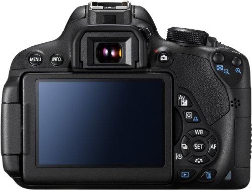Canon EOS 700D SLR-Digitalkamera (18 Megapixel, 7,6 cm (3 Zoll) Touchscreen, Full HD, Live-View) nur Gehäuse - 2
