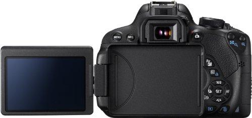 Canon EOS 700D SLR-Digitalkamera (18 Megapixel, 7,6 cm (3 Zoll) Touchscreen, Full HD, Live-View) nur Gehäuse - 4