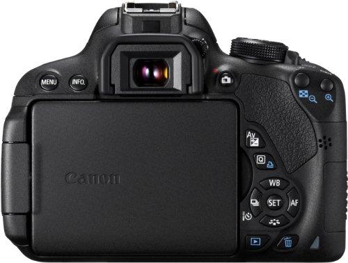 Canon EOS 700D SLR-Digitalkamera (18 Megapixel, 7,6 cm (3 Zoll) Touchscreen, Full HD, Live-View) nur Gehäuse - 5