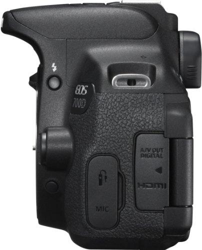 Canon EOS 700D SLR-Digitalkamera (18 Megapixel, 7,6 cm (3 Zoll) Touchscreen, Full HD, Live-View) nur Gehäuse - 6