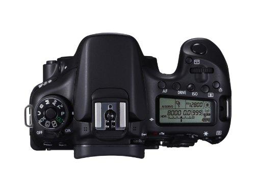 Canon EOS 70D SLR-Digitalkamera (20 Megapixel APS-C CMOS Sensor, 7,6 cm (3 Zoll) Display, Full HD, WiFi, DIGIC 5+ Prozessor) inkl. EF-S 18-55mm 1:3,5-5,6 IS STM Objektiv schwarz - 10