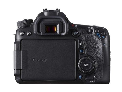 Canon EOS 70D SLR-Digitalkamera (20 Megapixel APS-C CMOS Sensor, 7,6 cm (3 Zoll) Display, Full HD, WiFi, DIGIC 5+ Prozessor) inkl. EF-S 18-55mm 1:3,5-5,6 IS STM Objektiv schwarz - 4