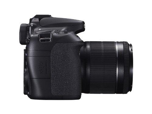 Canon EOS 70D SLR-Digitalkamera (20 Megapixel APS-C CMOS Sensor, 7,6 cm (3 Zoll) Display, Full HD, WiFi, DIGIC 5+ Prozessor) inkl. EF-S 18-55mm 1:3,5-5,6 IS STM Objektiv schwarz - 6
