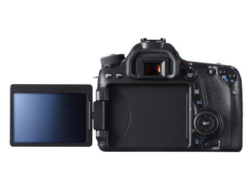 Canon EOS 70D SLR-Digitalkamera (20 Megapixel APS-C CMOS Sensor, 7,6 cm (3 Zoll) Display, Full HD, WiFi, DIGIC 5+ Prozessor) nur Gehäuse schwarz - 3