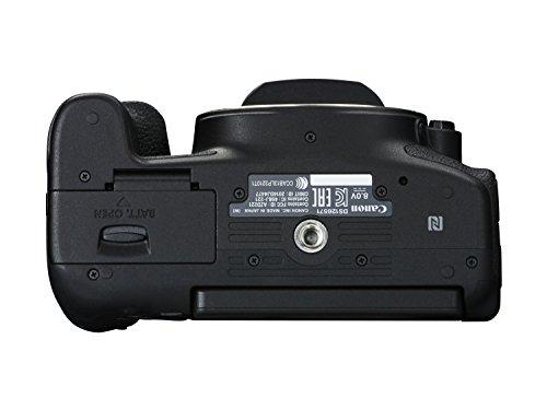 Canon EOS 750D SLR-Digitalkamera (24 Megapixel, APS-C CMOS-Sensor, WiFi, NFC, Full-HD) Kit inkl. EF-S 18-55 mm IS STM Objektiv schwarz - 8