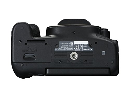 Canon EOS 750D SLR-Digitalkamera (24 Megapixel, APS-C CMOS-Sensor, WiFi, NFC, Full-HD) schwarz - 4