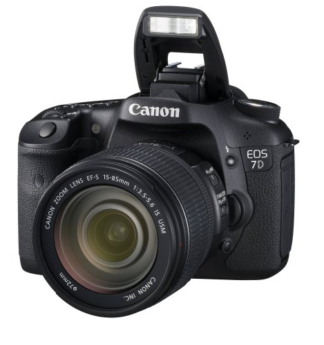 Canon EOS 7D SLR-Digitalkamera (18 Megapixel, 7,6 cm (3 Zoll) LCD-Display, LiveView, FullHD-Movie) inkl. EF-S 15-85mm IS USM LENS-KIT - 2