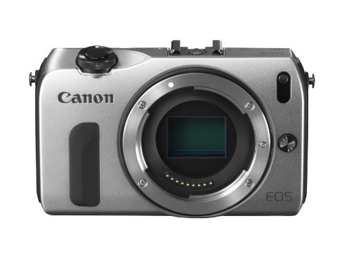 Canon EOS M kompakte Systemkamera (18 Megapixel, 7,6 cm (3 Zoll) Display, Full HD, Touch-Display) Kit inkl. EF-M 18-55mm 1:3,5-5,6 IS STM und Speedlite 90EX silber - 2
