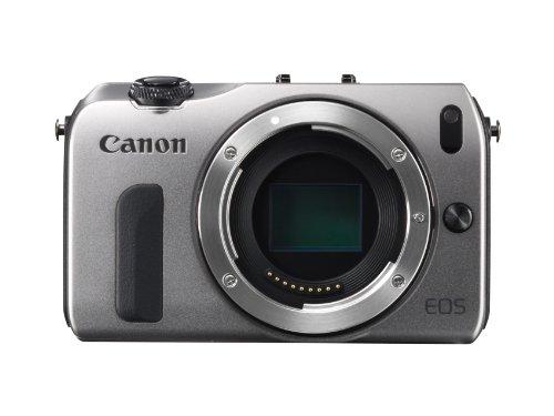 Canon EOS M kompakte Systemkamera (18 Megapixel, 7,6 cm (3 Zoll) Display, Full HD, Touch-Display) Kit inkl. EF-M 18-55mm 1:3,5-5,6 IS STM und Speedlite 90EX silber - 3