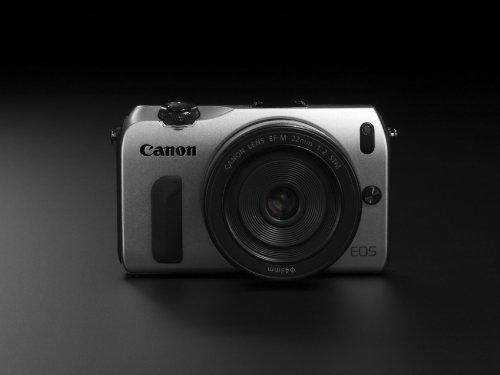 Canon EOS M kompakte Systemkamera (18 Megapixel, 7,6 cm (3 Zoll) Display, Full HD, Touch-Display) Kit inkl. EF-M 18-55mm 1:3,5-5,6 IS STM und Speedlite 90EX silber - 8