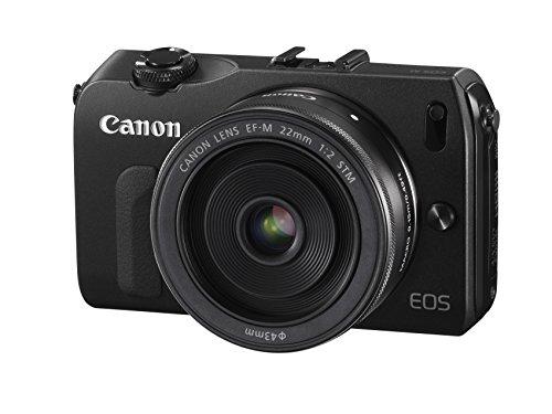 Canon EOS M kompakte Systemkamera (18 Megapixel, 7,6 cm (3 Zoll) Display, Full HD, Touch-Display) Kit inkl. EF-M 22mm 1:2 STM Pancake-Objektiv, Speedlite 90EX und Mount Adapter EF-EOS M schwarz - 3