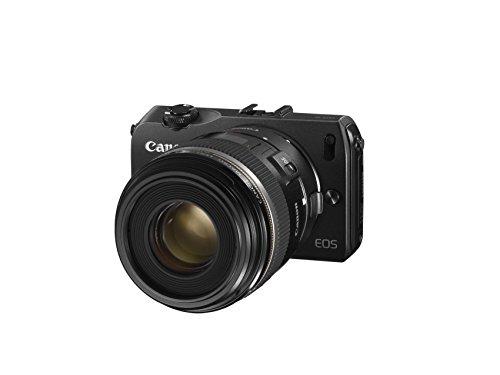 Canon EOS M kompakte Systemkamera (18 Megapixel, 7,6 cm (3 Zoll) Display, Full HD, Touch-Display) Kit inkl. EF-M 22mm 1:2 STM Pancake-Objektiv, Speedlite 90EX und Mount Adapter EF-EOS M schwarz - 5