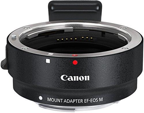 Canon EOS M kompakte Systemkamera (18 Megapixel, 7,6 cm (3 Zoll) Display, Full HD, Touch-Display) Kit inkl. EF-M 22mm 1:2 STM Pancake-Objektiv, Speedlite 90EX und Mount Adapter EF-EOS M schwarz - 8