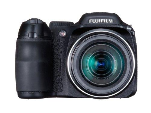 FujiFilm FinePix S 2000HD (10 Megapixel, 15-fach opt. Zoom, 6,9 cm (2,7 Zoll) Display, Bildstabilisator) schwarz - 1