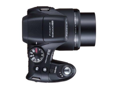 FujiFilm FinePix S 2000HD (10 Megapixel, 15-fach opt. Zoom, 6,9 cm (2,7 Zoll) Display, Bildstabilisator) schwarz - 3