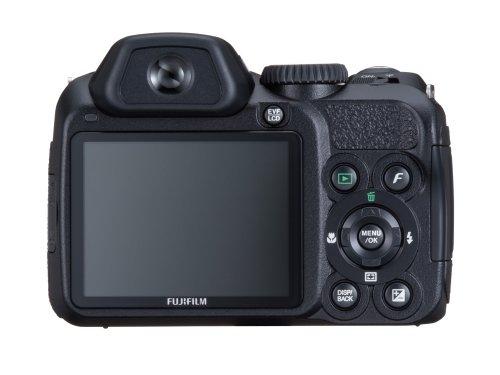 FujiFilm FinePix S 2000HD (10 Megapixel, 15-fach opt. Zoom, 6,9 cm (2,7 Zoll) Display, Bildstabilisator) schwarz - 4