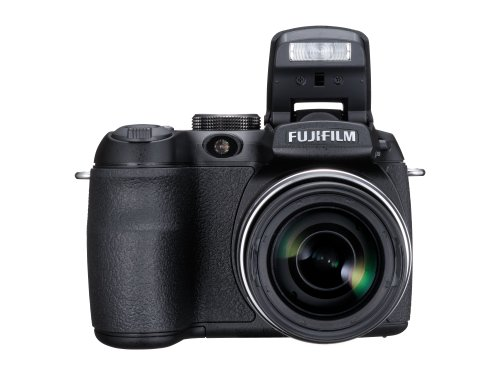 Fujifilm FinePix S1500 Digitalkamera (10 Megapixel, 12fach opt. Zoom, 2.7'' Display, Bildstabilisator) schwarz - 3