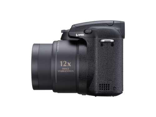 Fujifilm FinePix S1500 Digitalkamera (10 Megapixel, 12fach opt. Zoom, 2.7'' Display, Bildstabilisator) schwarz - 4