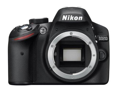 Nikon D3200 SLR-Digitalkamera (24 Megapixel, 7,4 cm (2,9 Zoll) Display, Live View, Full-HD) Kit inkl. AF-S DX 18-105 VR Objektiv schwarz - 4
