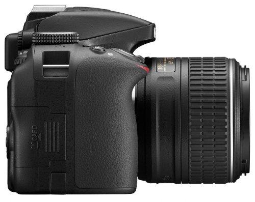Nikon D3300 SLR-Digitalkamera Kit (24 Megapixel, 7,6 cm (3 Zoll) TFT-LCD-Display, Live View, Full-HD) inkl. AF-S DX 18-55 VR II Objektiv schwarz - 5