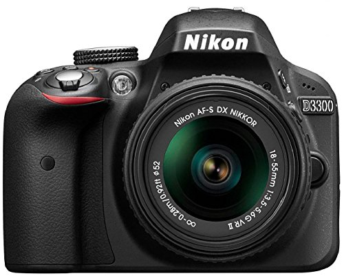 Nikon D3300 SLR-Digitalkamera Kit (24 Megapixel, 7,6 cm (3 Zoll) TFT-LCD-Display, Live View, Full-HD) inkl. AF-S DX 18-55 VR II Objektiv schwarz - 8