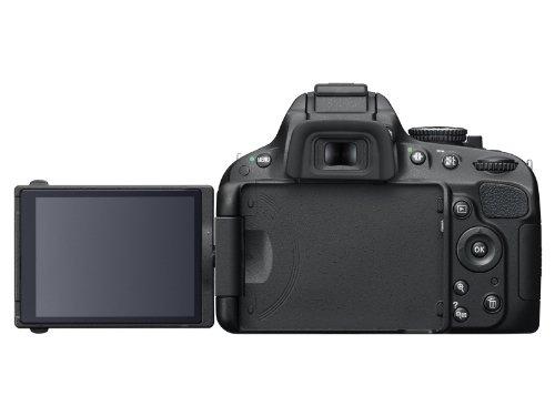 Nikon D5100 SLR-Digitalkamera (16 Megapixel, 7.5 cm (3 Zoll) schwenk- und drehbarer Monitor, Live-View, Full-HD-Videofunktion) Gehäuse - 6