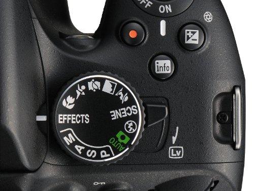 Nikon D5100 SLR-Digitalkamera (16 Megapixel, 7.5 cm (3 Zoll) schwenk- und drehbarer Monitor, Live-View, Full-HD-Videofunktion) Kit inkl. AF-S DX 18-105 mm VR (bildstb.) - 2