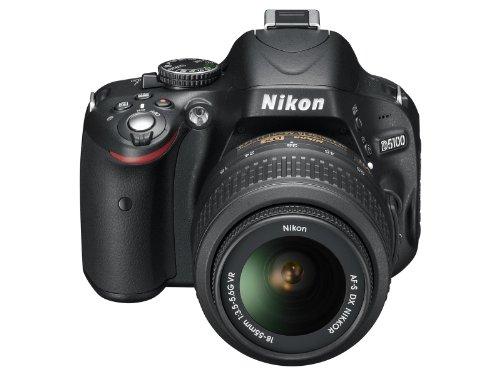 Nikon D5100 SLR-Digitalkamera (16 Megapixel, 7.5 cm (3 Zoll) schwenk- und drehbarer Monitor, Live-View, Full-HD-Videofunktion) Kit inkl. AF-S DX 18-55 mm VR (bildstb.) - 3