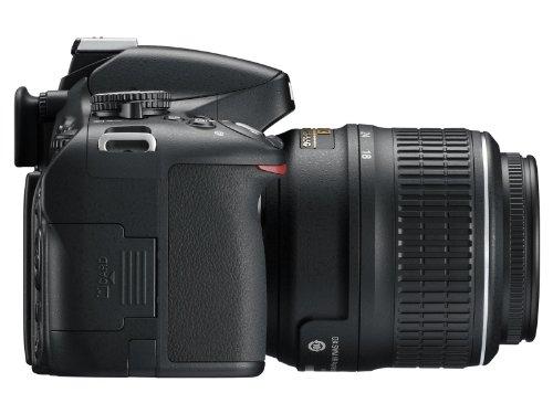 Nikon D5100 SLR-Digitalkamera (16 Megapixel, 7.5 cm (3 Zoll) schwenk- und drehbarer Monitor, Live-View, Full-HD-Videofunktion) Kit inkl. AF-S DX 18-55 mm VR (bildstb.) - 5