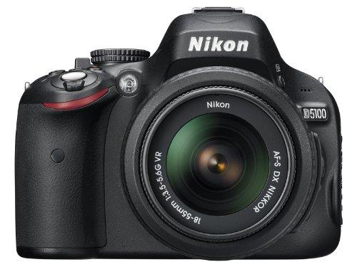 Nikon D5100 SLR-Digitalkamera (16 Megapixel, 7.5 cm (3 Zoll) schwenk- und drehbarer Monitor, Live-View, Full-HD-Videofunktion) Kit inkl. AF-S DX 18-55 mm VR (bildstb.) - 9